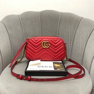 Ms. Gucci GG Marmont Embossed Love Should414916